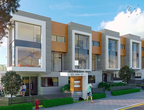 Townhouse Development 7584 Macpherson Ave